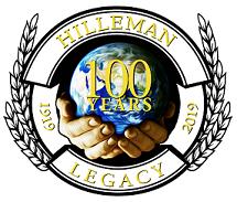 Hilleman 100th logo