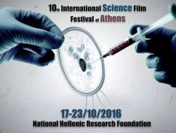 10th International Science Film Festival logo