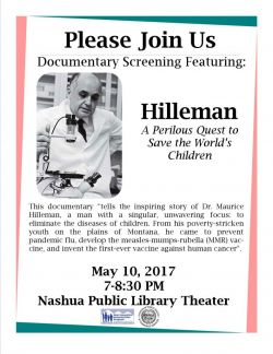 Nashua screening poster