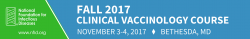 NFID vaccinology course logo
