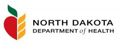 North Dakota Dept of Health logo