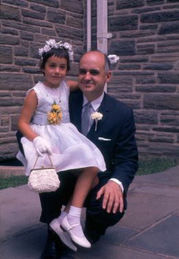 Dr. Hilleman with child